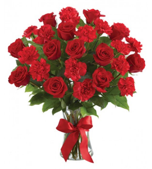 18 pcs Red Roses