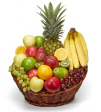 Fruit basket with Banana & Apple