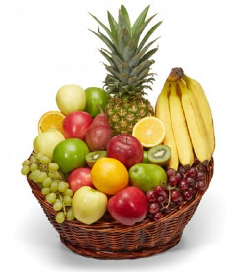 Fruit basket with Banana & Apple