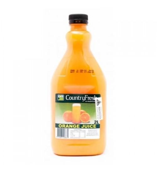 2 liters of orange juice Country