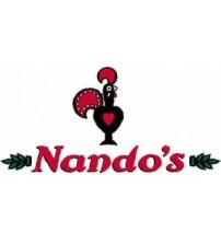 Nandos Chicken burger meal