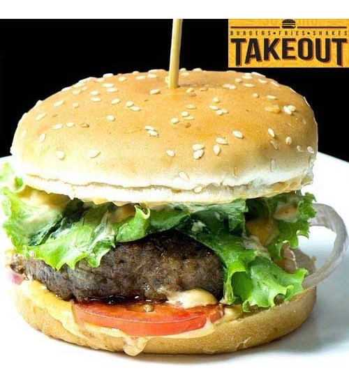 Takeout Burger