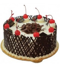 Round Shape German Black Forest Cake